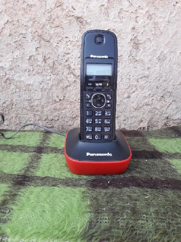 Маленькие-телефоны - Кыргызстан: Продаю новый безпроводной дом.тел. ловит далеко. Работает отлично