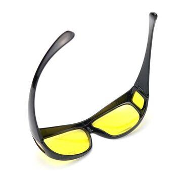 Очки для водителей - Кыргызстан: Очки Анти-блик, Антибликовые Желтые Очки для водителей для Ночного