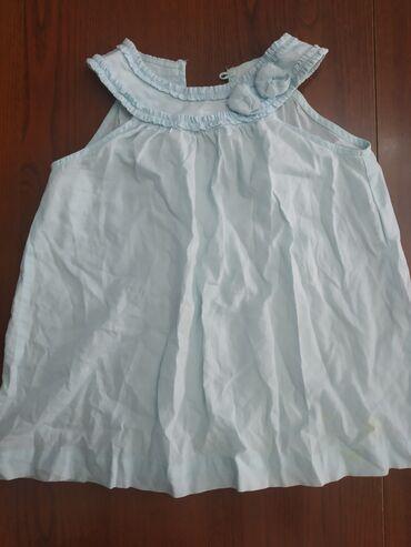 Туника, носится с шортиками. Нежное, легкое платье на девочку года 2-4
