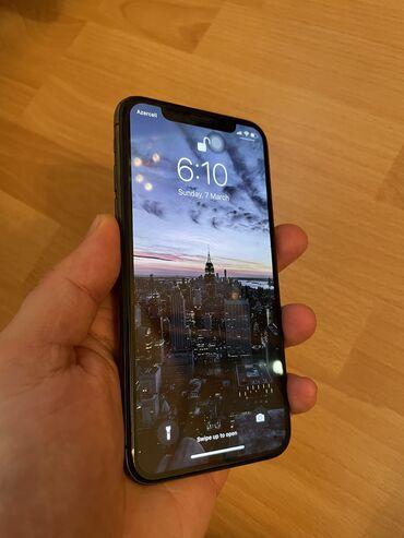 зарядка apple в Азербайджан: Б/У iPhone X 256 ГБ Серый (Space Gray)