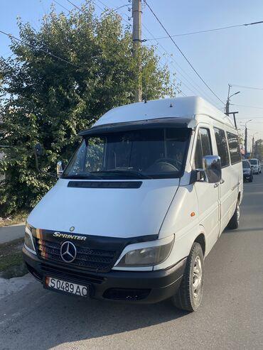 спринтер в бишкеке in Кыргызстан   ГРУЗОВЫЕ ПЕРЕВОЗКИ: Mercedes-Benz Sprinter 2.2 л. 2000   123456 км