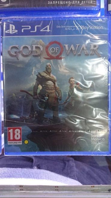 Bakı şəhərində Ps4 üçün God of War 4 oyunu rus dilində Təzə upokovkada orginal
