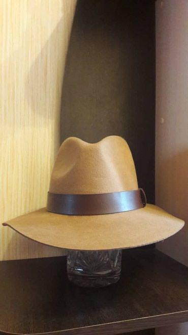 Продаю две шляпы,натуральная шерсть.Фирма HM.Цена указана на этикетке в Бишкек