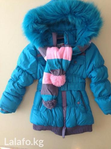 Новое. пальто + шарф kiko. размеры- 110 см в Бишкек