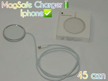 Magsafe charger (iphone)✅ çatdirilma var ❗(+rayonlara poçtla