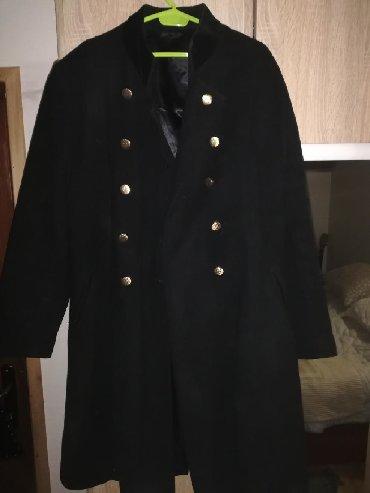 Prelep moderan kaput ženski XL, crne boje