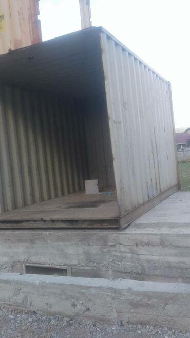 Гаражи - Бишкек: Контейнер сатылат 1шт морской контейнер 12метр2шт контейнер 6метрден