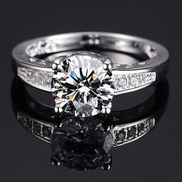 Srebrni prsten 925, precnik 18mm, besplatna dostava - Subotica