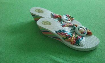 Ženska obuća | Nis: Papuče br.37 - nove 490din. 061/204-0634