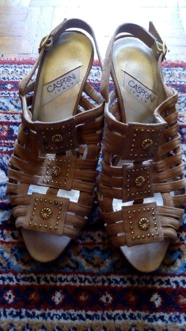 Kozne kvalitetne zenske sandale,obuvene par puta..jer je mali - Kraljevo