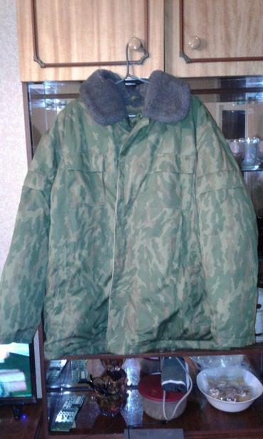 Продаю теплую военную куртку (бушлат) в Бишкек