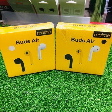 Беспроводные наушники Realmi Buds AirВ черном и белых цветах!Шикарное