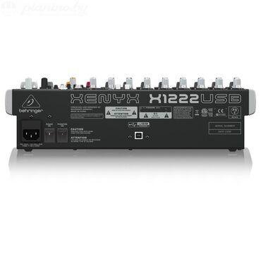 radio-mikrofon-shure-sm58 в Кыргызстан: Микшер Behringer Xenyx X1222USB(почти новый)Характеристики:•