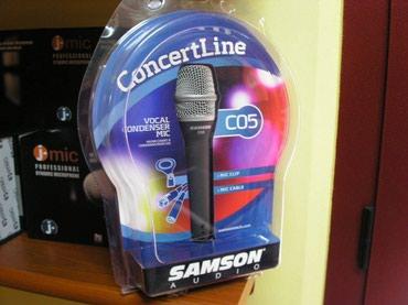 Bakı şəhərində Samson C05 Samson firmasina mexsus C05 modeli kabelli mikrofon