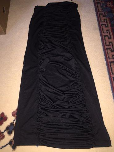 Haljina crna bez rukava XL
