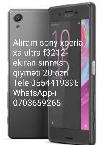 Xperia z5 - Azərbaycan: Sony xperia xa ultra f3212 ekiran sınmış və platasi yanmış alıram 15 a