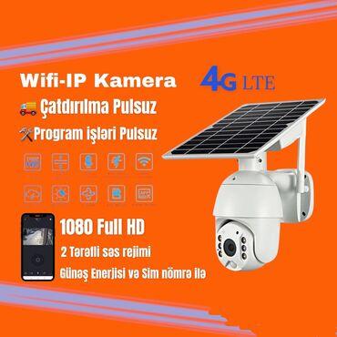 📢Yeni Solar 4G IP Kamera🎥Solar ip kamera tam kabelsiz işleyir🌍Sim kart