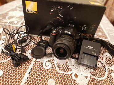 Nikon D5100 . az az istifade olunub evde yalniz. Yeniden secilimit.her