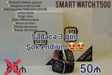 Toy aksesuarları - Azərbaycan: Smart watch T500  suallarınızı whatsapp vasitəsilə verə bilərsiniz