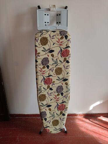 Гладильная доска, турецкаяС чехлом,в отличном состоянииДлина примерно