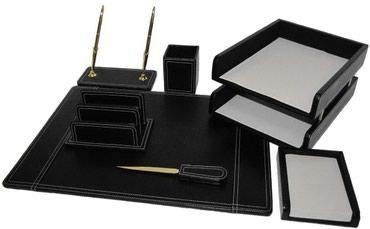 Сканеры пзс ccd глянцевая бумага - Кыргызстан: Настольный набор для руководителя.Выполнен из эко кожи с декоративной