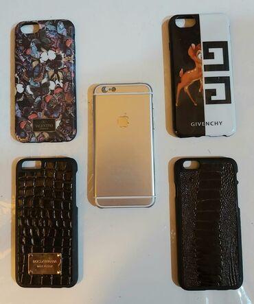 Mobil telefonlar üçün aksesuarlar - Qobu: İPhone 6 üçün arxalıq 1 -5 azn
