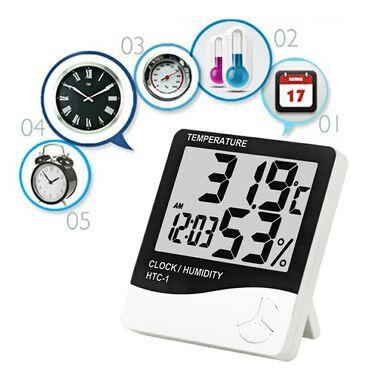 7 elan | TIBBI MƏHSULLAR: Termometr HTC-1 Termometr✔Nemislik ve temperaturu ölçən termometr✔Saat