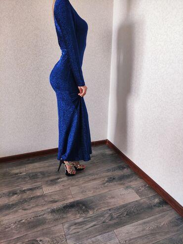 вечерние платье в пол в Кыргызстан: Вечернее платье Одевали только 1 раз  Брали за 4000,отдаем за 2000 Пре