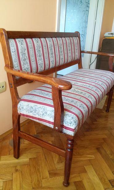 Klupe - Srbija: Klupa za više namena. Dužine 128cm, visine 65cm do rukohvata, širine