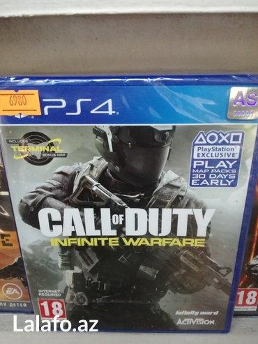 Bakı şəhərində Call of duty infinity warfare ps4