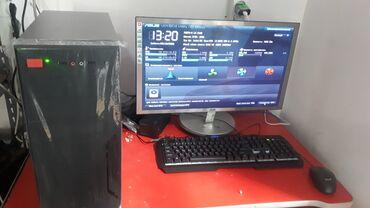 videokamera na kompyuter в Кыргызстан: Продаю игровой компьютер с 24 ипс монитором дешево