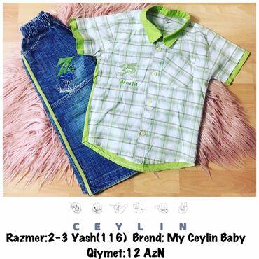 Razmer:2-3 Yash(116) Brend: My Ceylin BabyQiymet:12 AzNtek tek de
