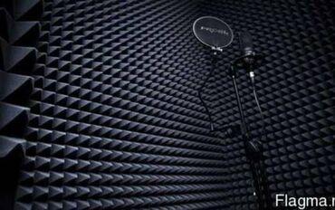 студийный микрофон бишкек in Кыргызстан   СТУДИЙНЫЕ МИКРОФОНЫ: Ап3-чёрный акустический поролон, модель 40 (960х960х55), атех