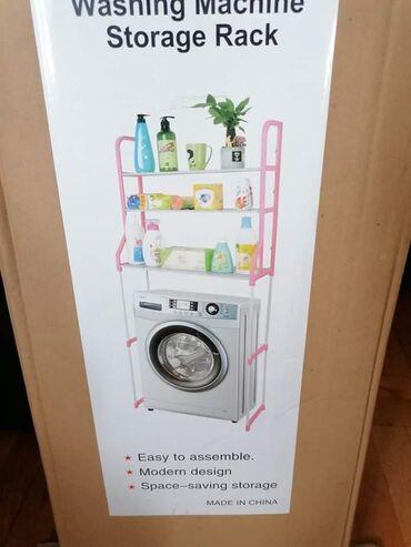 Masina za ves - Srbija: Polica za kupatilo ide iznad ves masinu