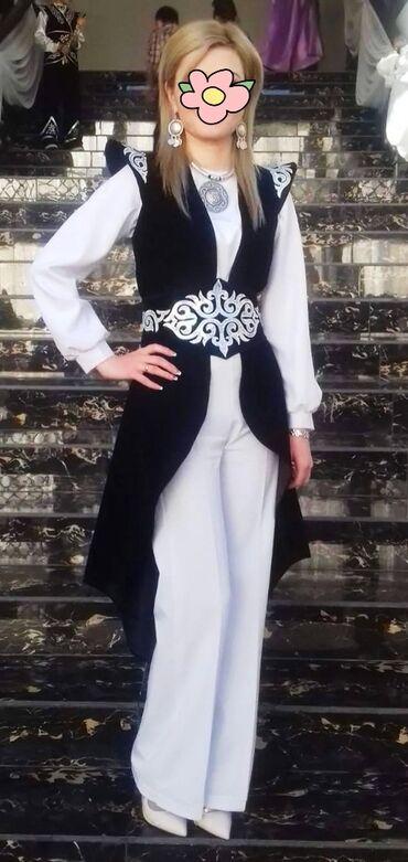 Женская одежда - Кок-Ой: Продаю национальной костюм размер трансформер примерно 42 до 46