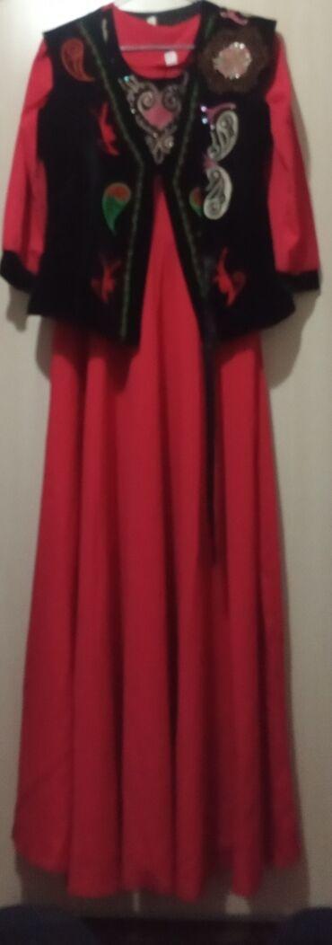 Продаю платье размер 44 одевала один раз на кыз узатуу. Ремни съ