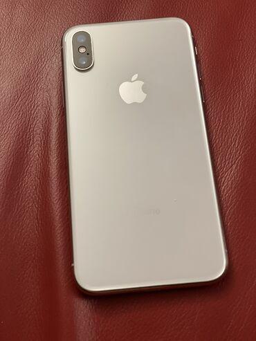 Apple Iphone - Модель: iPhone X - Бишкек: Б/У iPhone X 64 ГБ Белый