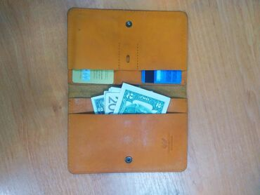 Кожаное портмоне, клатч, кошелёк, для визиток, пластиковых карт