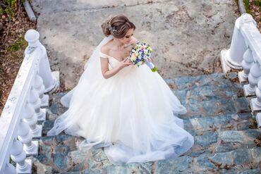 СВАДЕБНОЕ ПЛАТЬЕПышное платье с шикарным лифомПишите на ватсап