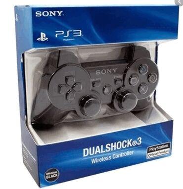 геймпад для гонок в Кыргызстан: Беспроводной джойстик PS3 DualShock 3 геймпад (реплика)