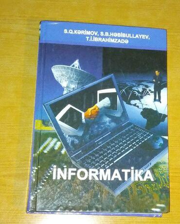 İnformatika kitabi - Sabit Kerimov. Teze kimidir demek olar hec