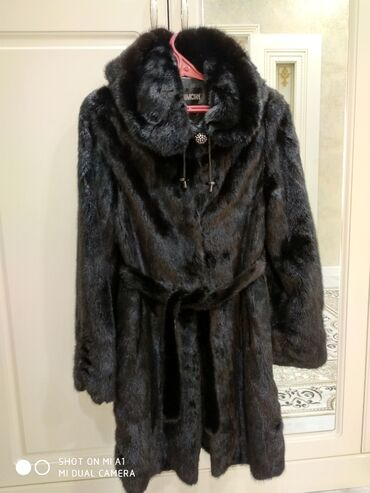 Куплю бриллианты - Кыргызстан: Норковые шубы цвет коричневый 42,44 черный бриллиант 44,46