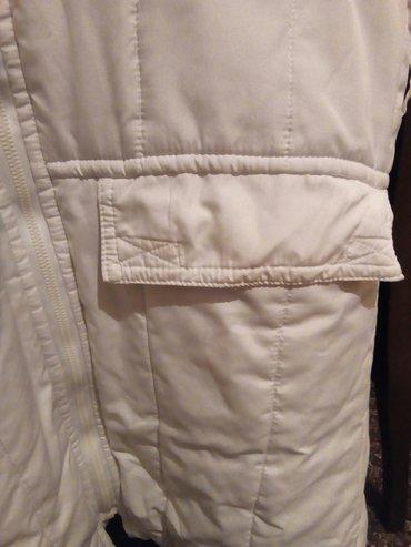 Bela ženska, zimska jakna, ne propušta sneg i kišu - Beograd - slika 7