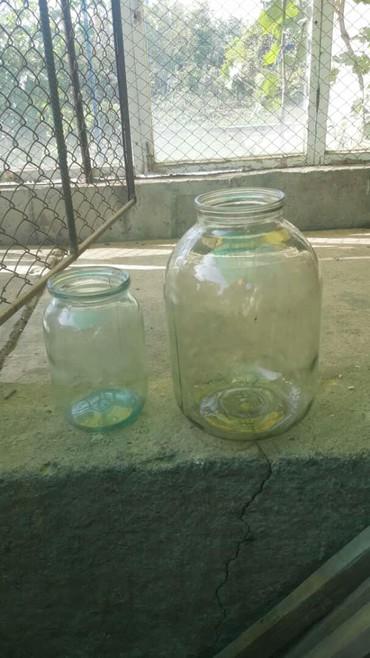 термокега 25 литр в Кыргызстан: Продам стекляные банки 3 литра и 1 литр. 3л-15сом и 1л-10сом цены