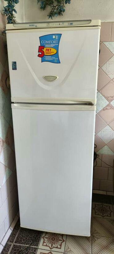 | Б/у Двухкамерный | Белый холодильник Nord