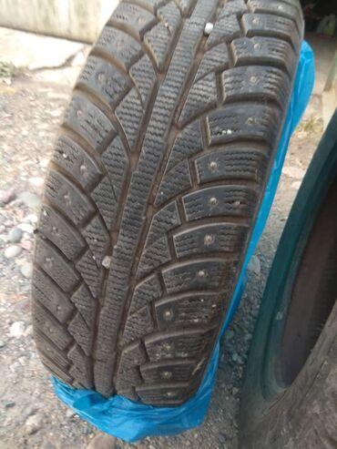 шины 195 65 r15 зима в Кыргызстан: Продам комплект шин в отличном состоянии. Зимняя шипованная R15 195