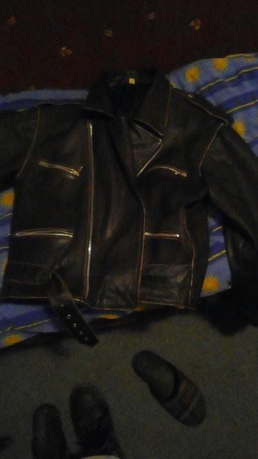 Jakne za motor - Srbija: Kožna jakna rokerka,motorka. prodajem odlicnu jaknu od kože pogodnu za