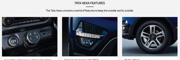 Tata Hexa is a power packed stunning new car with an array of safety in Kathmandu