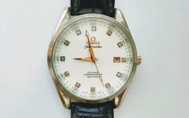 - Azərbaycan: Gümüşü Kişi Qol saatları Omega