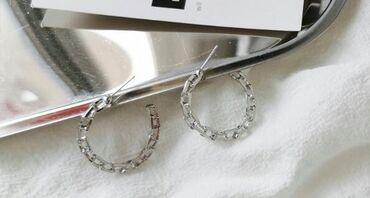 Продаю новые сережки. Швенза серебряная